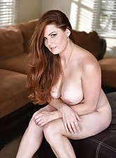 Red dress thick redheaded MILF gets banged by her own step-son