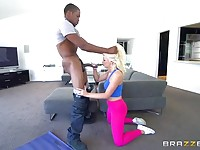 Interracial yoga experience